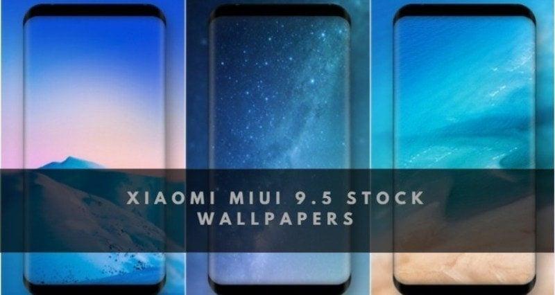 Xiaomi MIUI 9.5 Stock Wallpaper - Download Xiaomi MIUI 9.5 Stock Wallpapers in a Zip File
