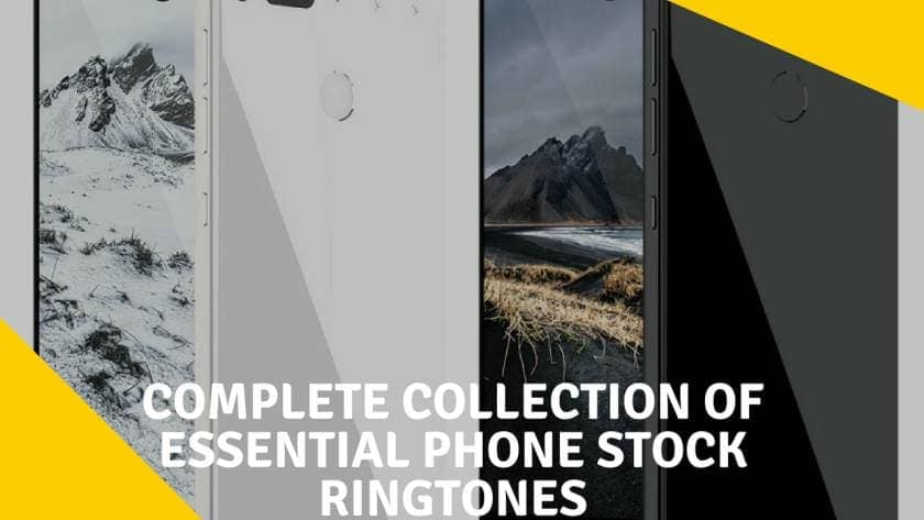 Download Complete Collection of Essential Phone Stock Ringtones