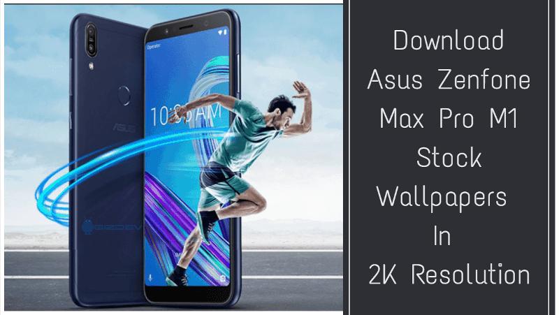 Asus Zenfone Max Pro M1 Stock Wallpapers