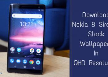 Nokia 8 Sirocco Stock Wallpapers