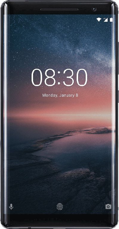 Nokia 8 Sirocco front glass