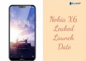 HMD Global Revealed Nokia X6 With Notch Design