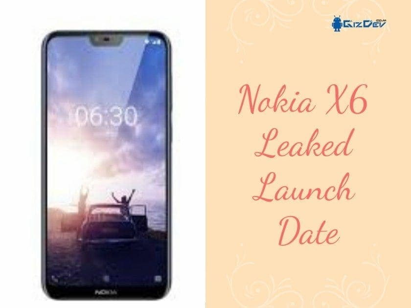 Nokia X6 Leaked Launch Date
