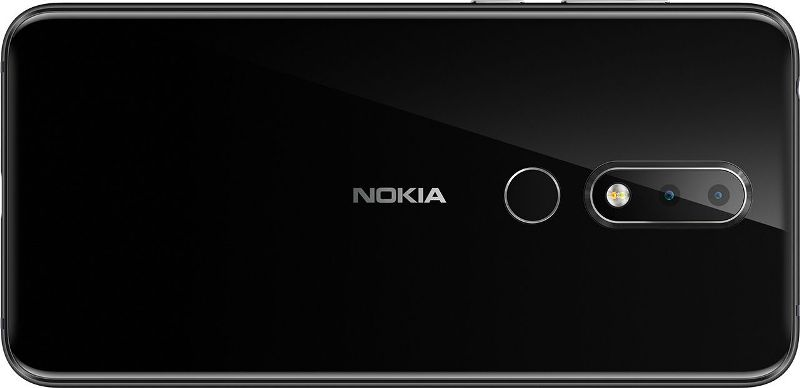 Nokia X6 back glass