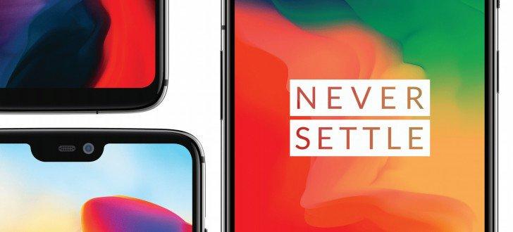 OnePlus 6 never settle