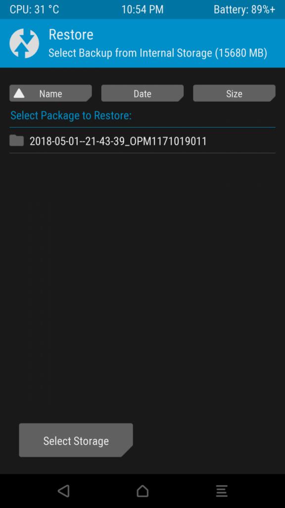 Oreo Galaxy S7 Edge software 1