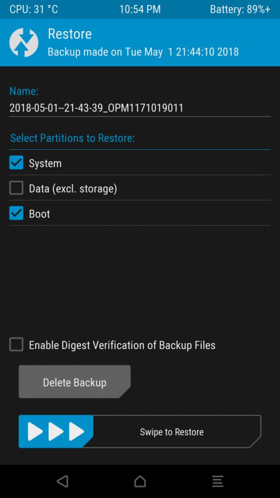 Oreo Galaxy S7 Edge software 2