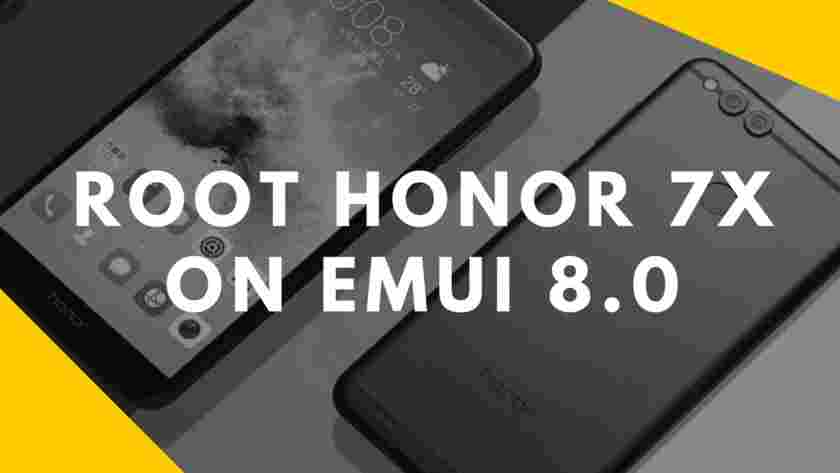 Root Honor 7x on emui 8.0 1