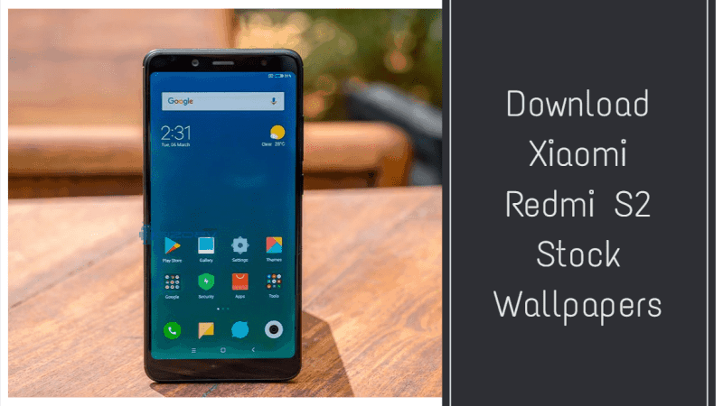 Xiaomi Redmi S2 Stock Wallpapers
