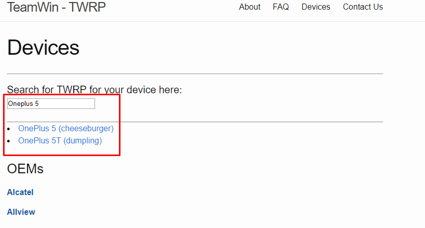 twrp recovery search