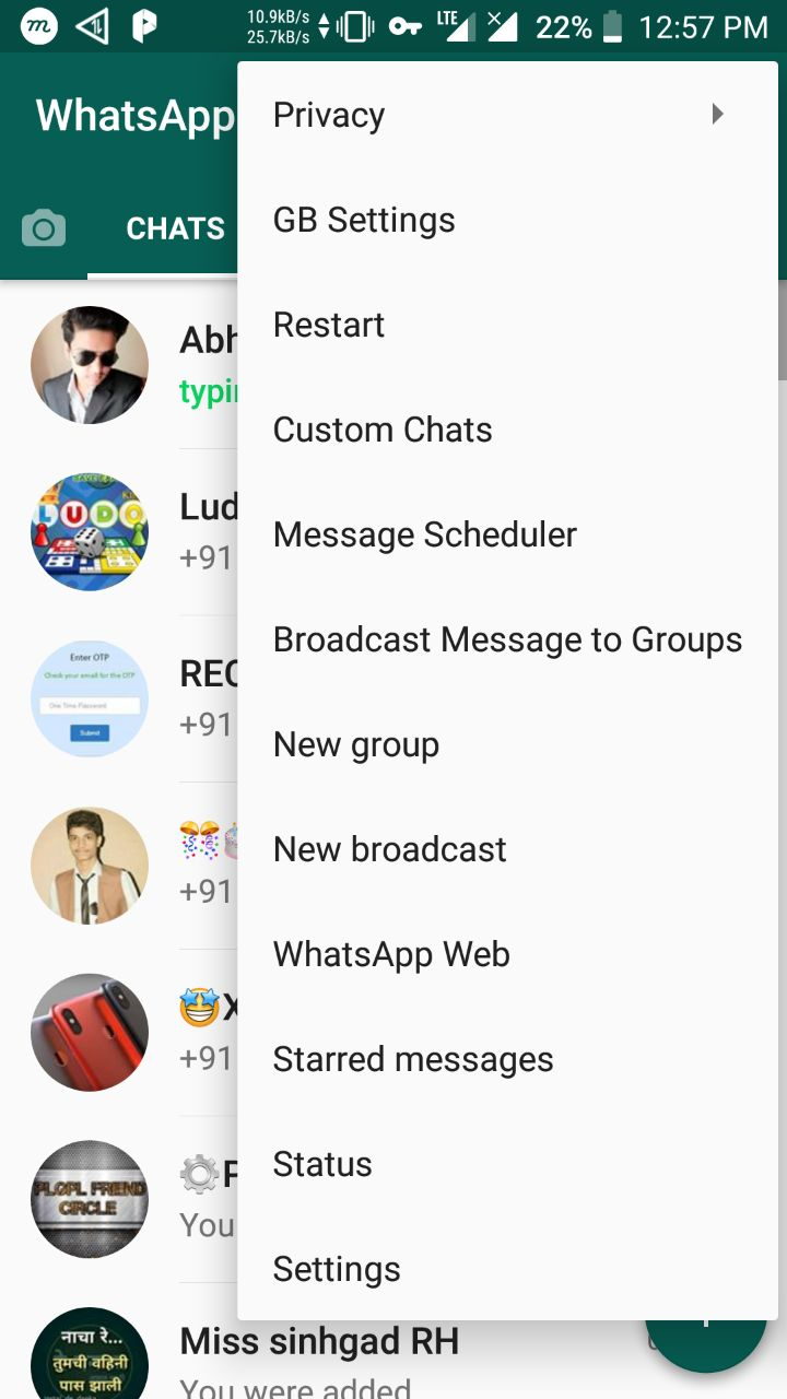 GB WhatsApp Screens 2