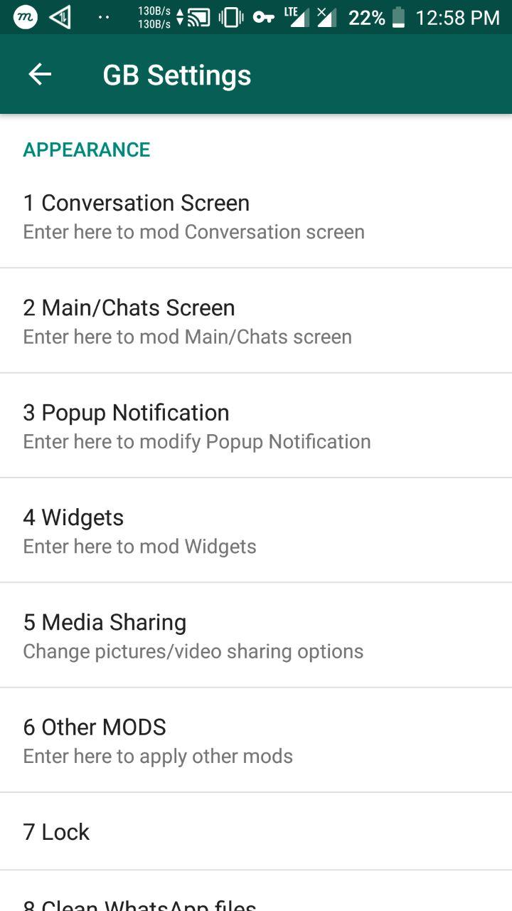 GB WhatsApp Screens 3