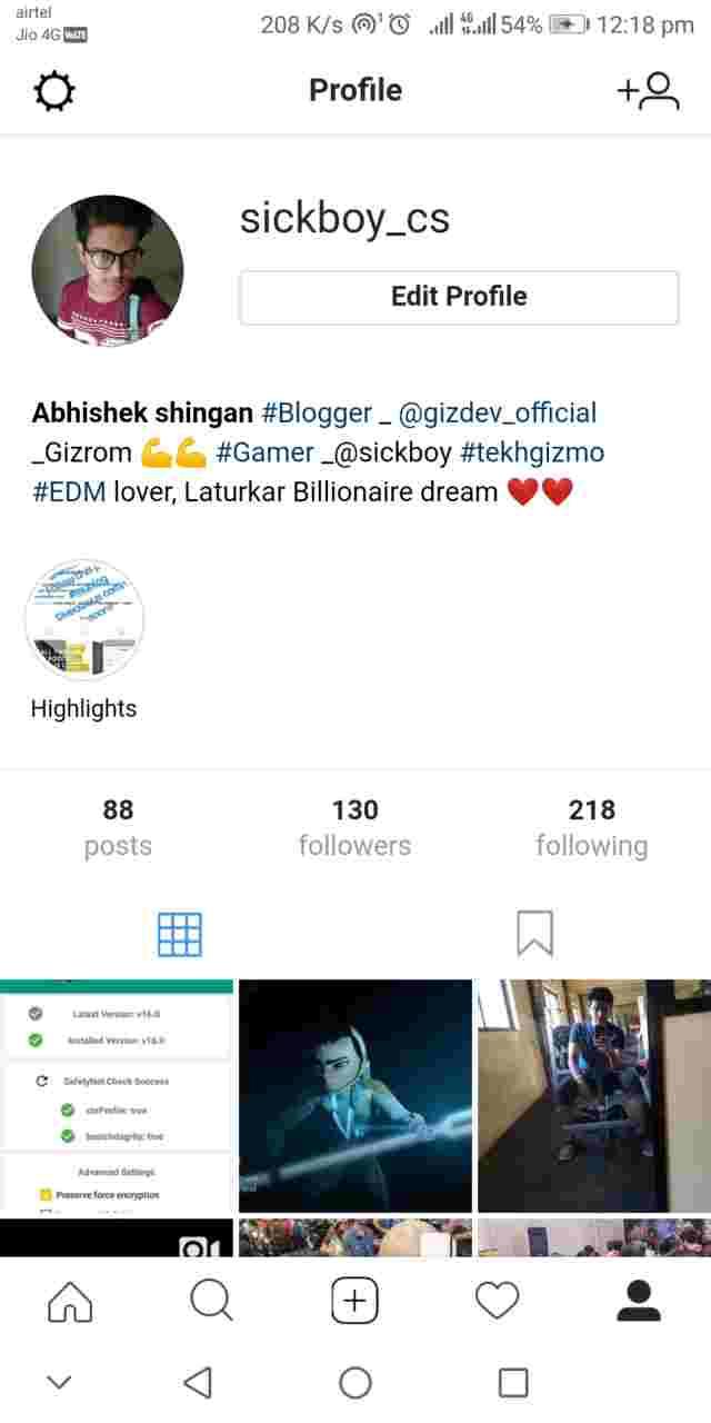 Instagram Lite In App Screenshots 1