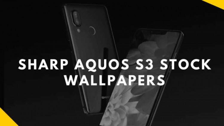 Sharp AQUOS S3 Stock Wallpapers