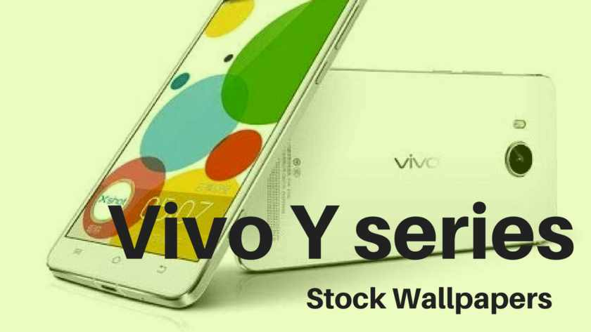 Download All Vivo Y Series Stock Wallpapers In HD Resolution