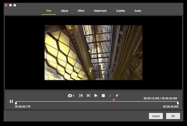 edit video mac