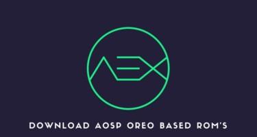 Download AOSP Oreo