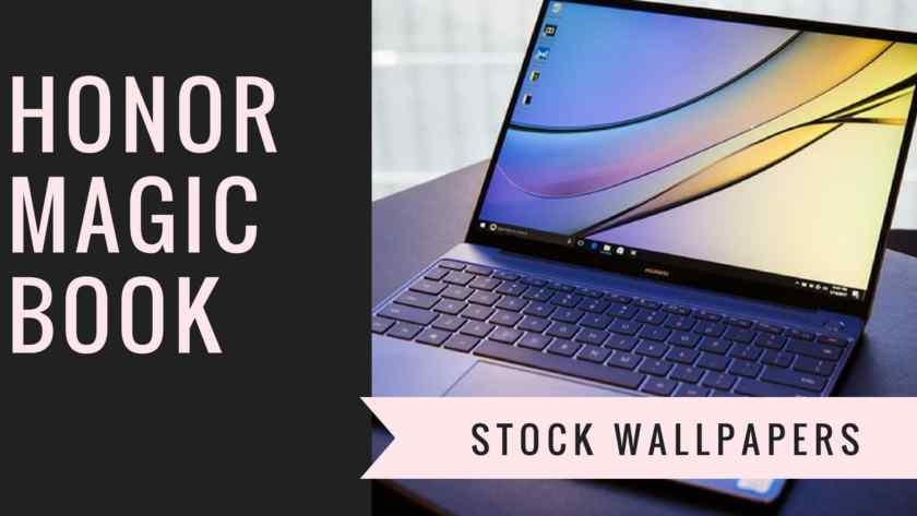 Honor MagicBook Stock wallpapers