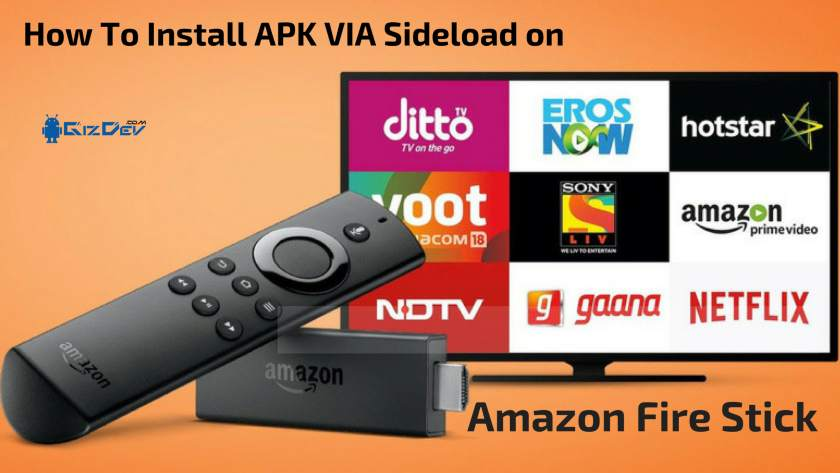How To Install APK On Amazon Fire Stick VIA Sideload. Follow the post to know How To Install KODI On Firestick.