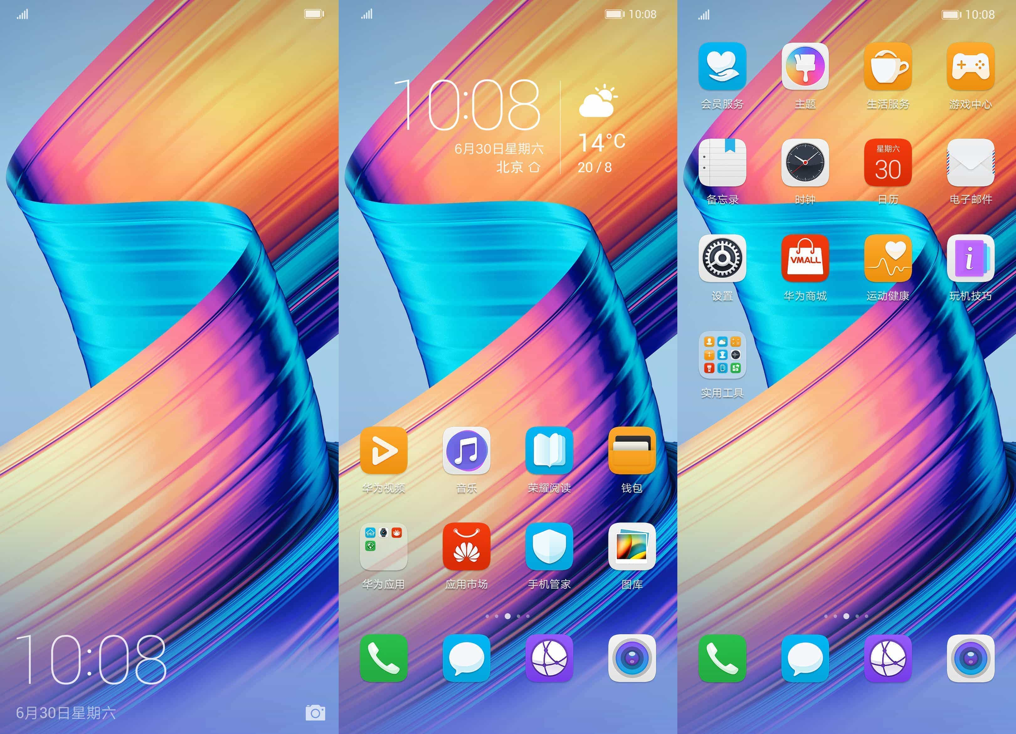 Huawei Honor Play Themes 8