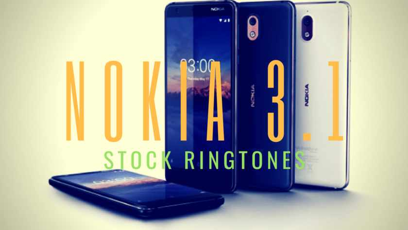 Nokia 3.1 stock theme ringtones, Nokia 3.1 Specifications