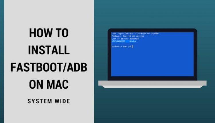 adb on mac
