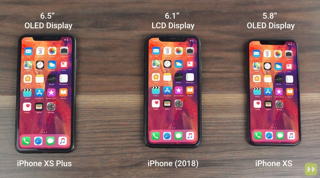 3 New Iphone named iPhone XS XS Plus and iPhone 2018 Releasing Soon front