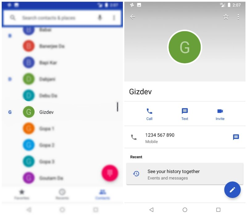 Add Android Contacts Pictures