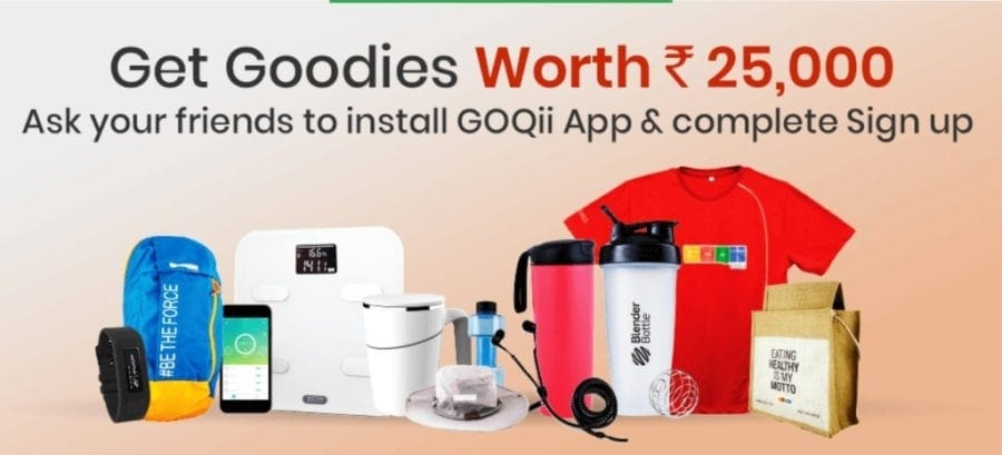 GOQii App Refer and Earn