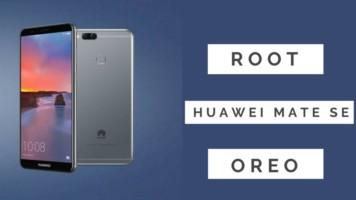 Root Huawei Mate SE Oreo