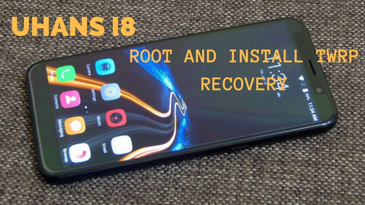 How to Install TWRP recovery and Root UHANS I8 With MTK Flash Tool. Follow the post to Root UHANS I8.