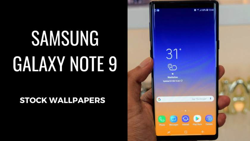 Download Samsung Galaxy Note 9 Stock Wallpapers In High