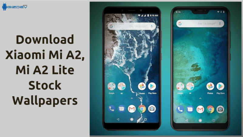 Download Xiaomi Mi A2, A2 Lite Wallpapers In FHD Resolution