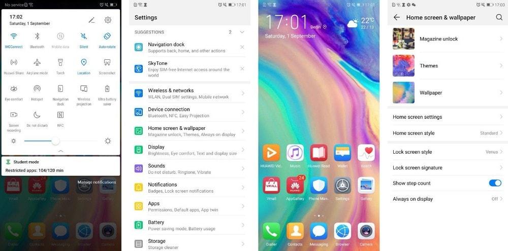 EMUI 9 Beta on Huawei Honor