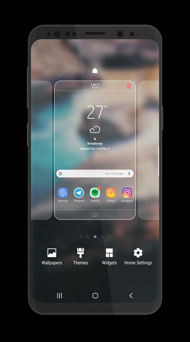 Galaxy S8 S9 Theme 2