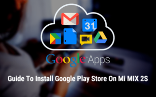 Google Play Store On Mi MIX 2S