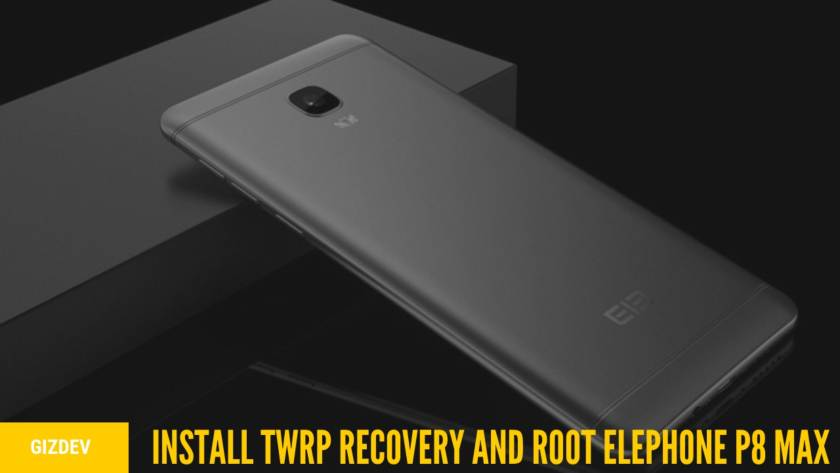 How To Install TWRP Recovery And Root Elephone P8 Max With MTK Flash Tool. Follow the post to Root Elephone P8 Max.