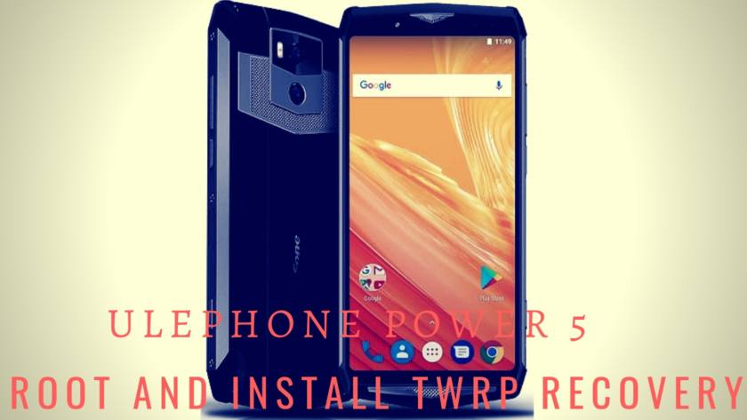 How To Install TWRP Recovery And Root Ulephone Power 5 With MTK Flash Tool. Follow the post to Root Ulephone Power 5.