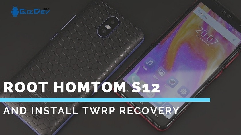 Install TWRP Recovery And Root HOMTOM S12 With MTK Flash Tool. Follow the post to root HOMTOM S12
