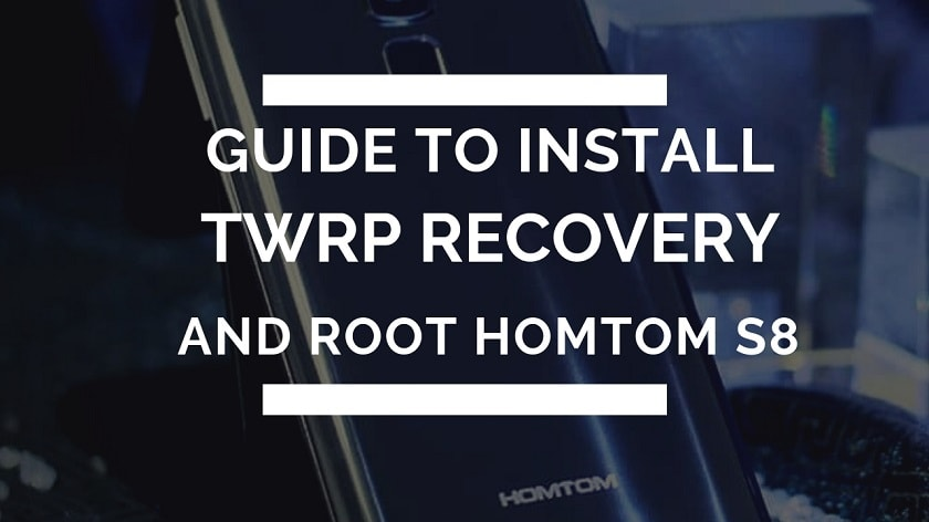 Install TWRP Recovery And Root HOMTOM S8 With MTK Flash Tool. Follow the post to root HOMTOM S8