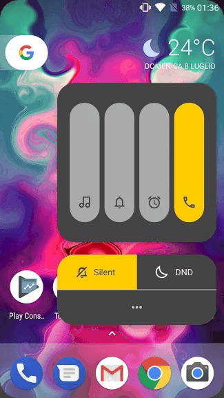 MIUI 10 Volume Slider Screenshots 1