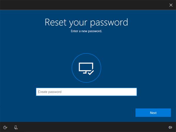 Reset Forgotten Windows 10 Password 2