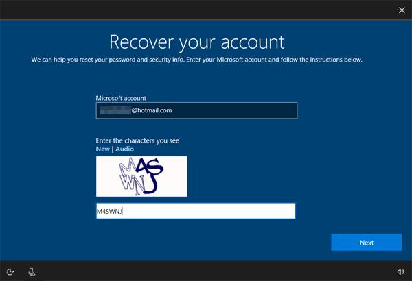 Reset Forgotten Windows 10 Password 5