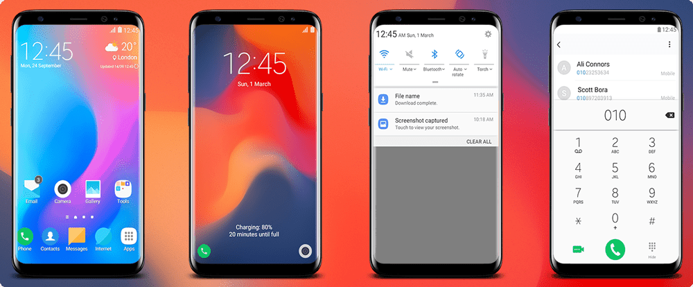 Download Latest MIUI 10 Theme For Samsung Galaxy Devices