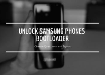 Unlock Samsung Phones Bootloader