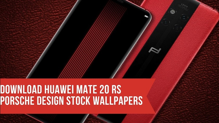 Huawei Mate 20 RS Porsche Design Stock Wallpapers