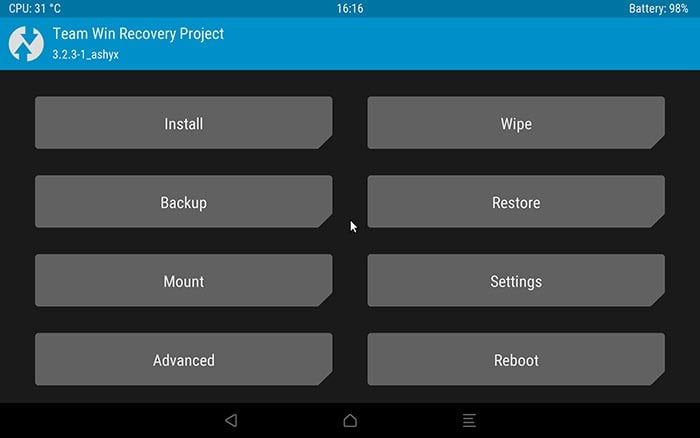TWRP for Galaxy Tab S4