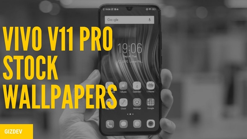 Download Vivo V11 Pro Stock Wallpapers In High Resolution