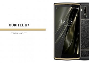 Root Oukitel K7