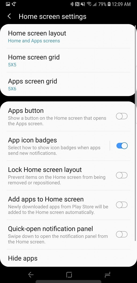 Samsung Experience 10 Launcher Screens 1